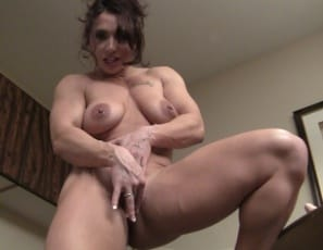 And once you watch her penetrate herself with a big toy as she masturbates