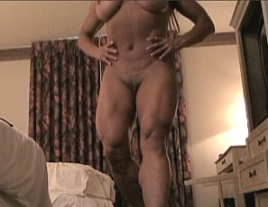 In fact, her legs turn her on as much as rubbing her clit does
