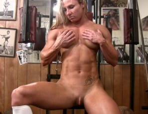 masturbation, and strong legs, and at her big clit