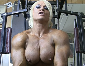 Nude body building women