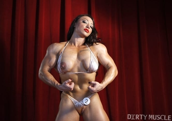 BrandiMae nude female bodybuilder