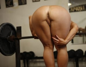 Genie nude female bodybuilder