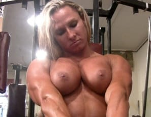Darkside Milinda nude female bodybuilder