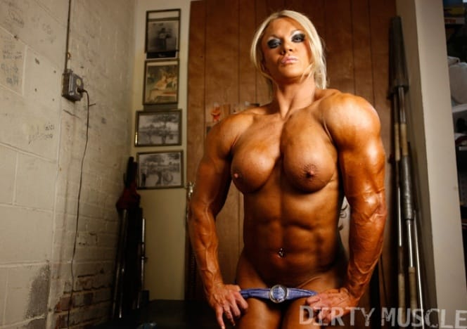 More Hot Pictures From Nude Female Bodybuilder Lisa Cross Picture Body