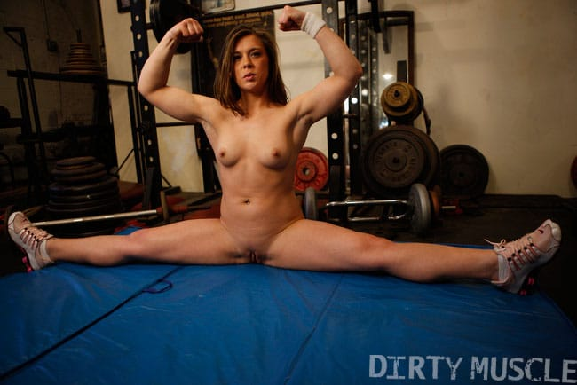 dirty muscle girls porn